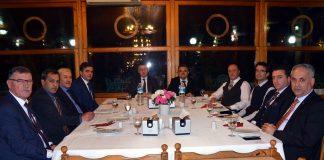 Vali Büyükakın, Belediye Başkanlarıyla Buluştu