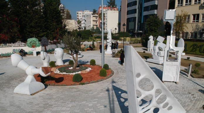 4.Adana Heykel Sempozyumu sonrası açıkhava sergisi