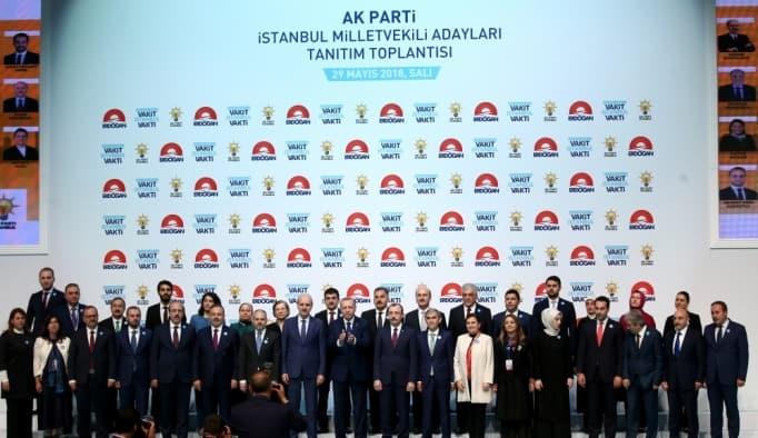 AK PARTİ İSTANBUL ADAYLARI