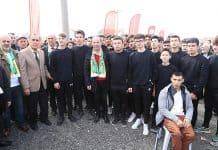 Recep Gürkan gençlerle buluştu