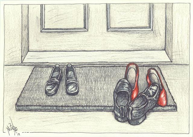 kadına yönelik şiddet 3. karikatür