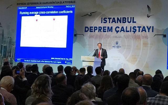 İstanbul Deprem Çalıştayı Bohnhoff