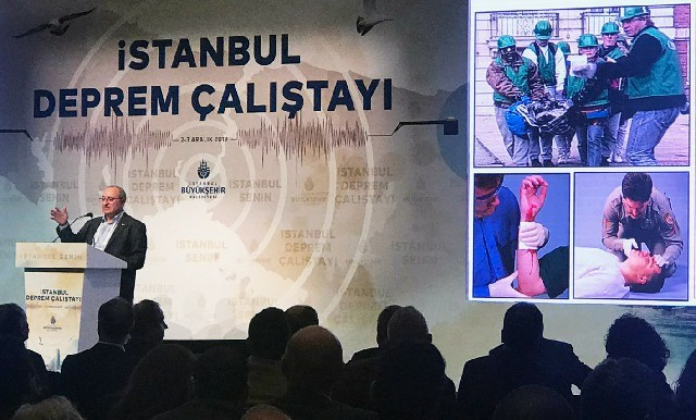 İstanbul Deprem Çalıştayı Mikdat