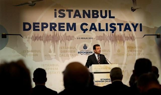 İstanbul Deprem Çalıştayı Ekrem