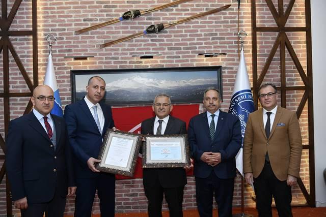 Erciyes dağı kalite belgesi