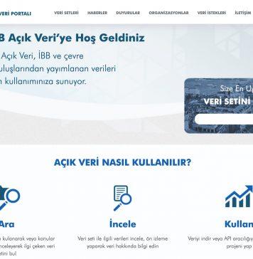 ibb açık veri portalı 1