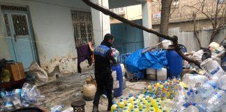 Gaziantep Zabıta ekiplerinden baskın