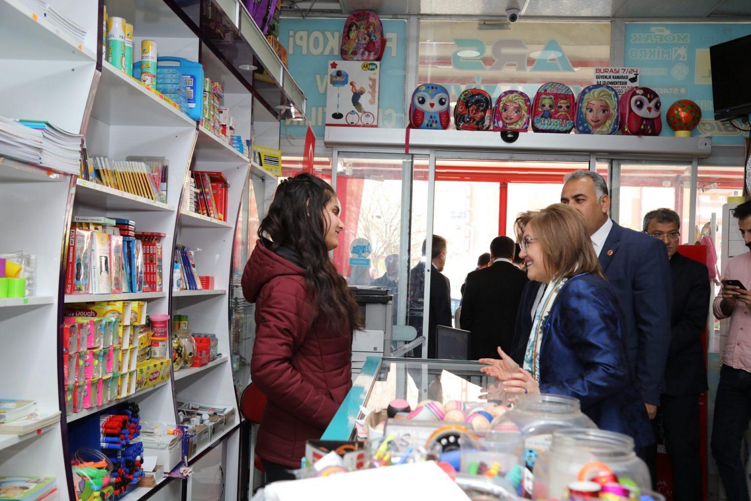 Gaziantep Büyükşehir Belediye Başkanı Fatma Şahin müjde verdi.