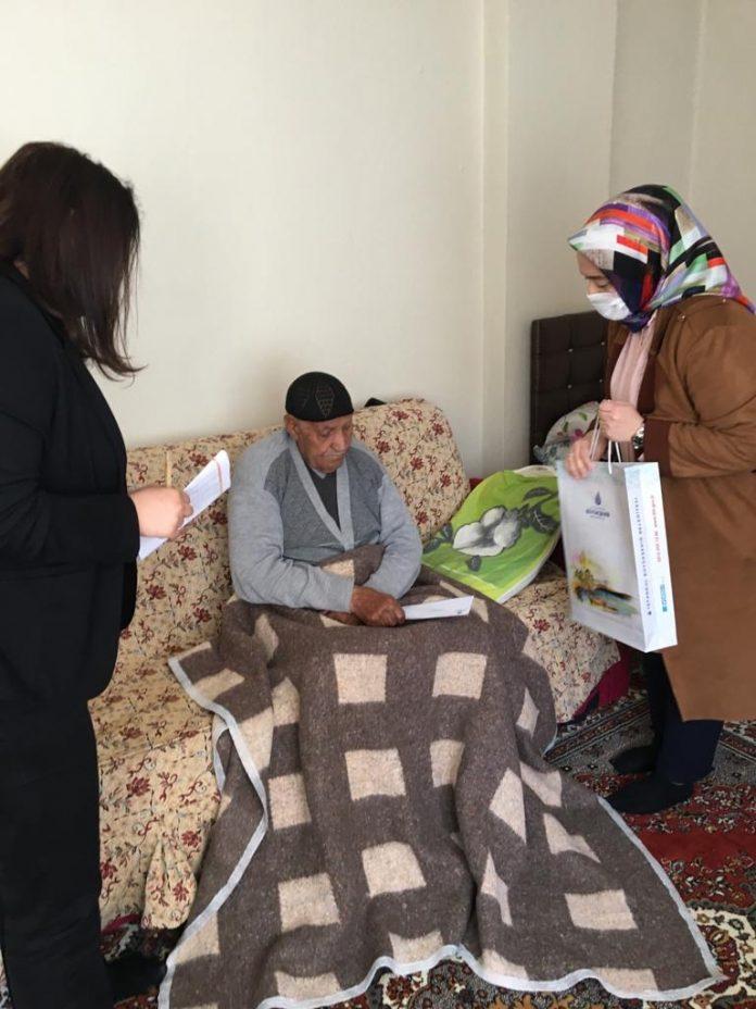 BB ekipleri asırlık çınarları evinde ziyaret etti