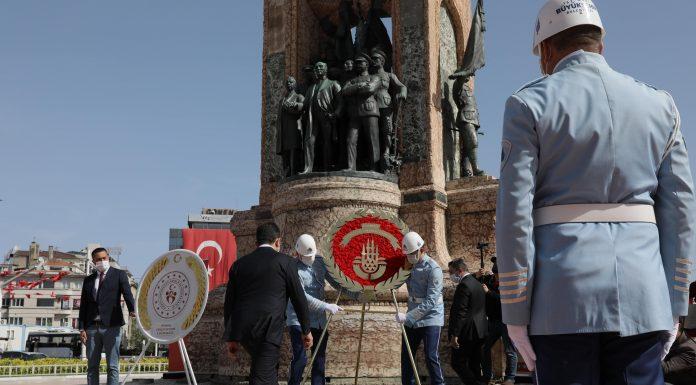 mamaoğlu 19 Mayısın 101. yıldönümünde Taksimdeydi ozelkalem.com .tr JPG min