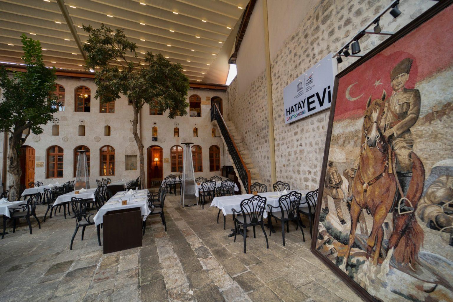 Hatay Gastronomi Evi model oldu ozelkalem.com .tr
