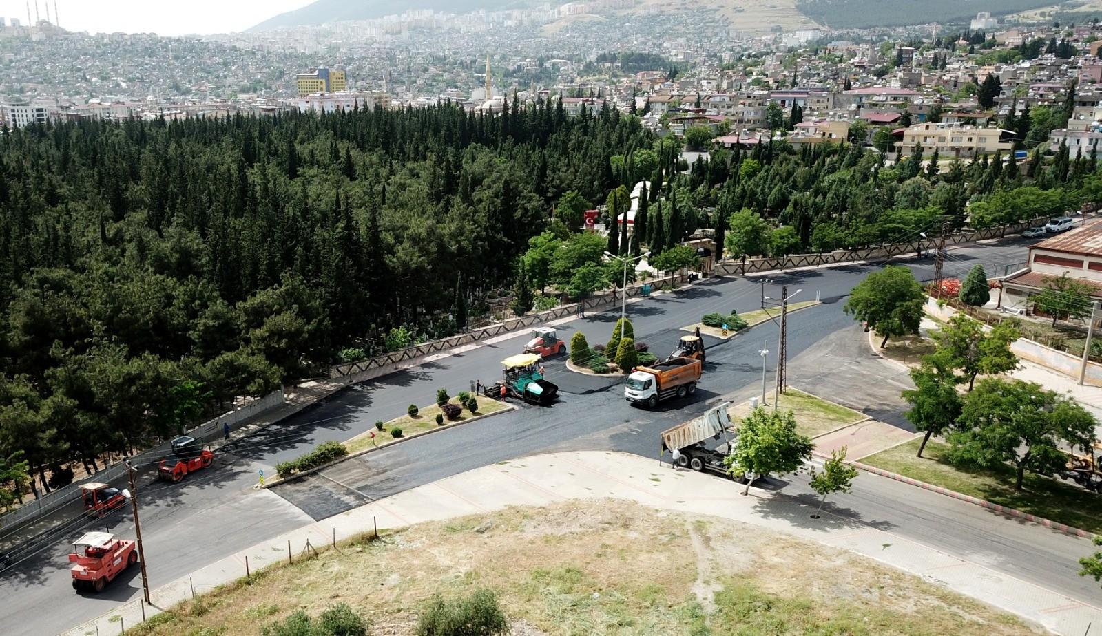 Kahramanmaraşın yolları asfalt ozelkalem.com .tr