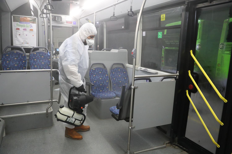 Ulaşımda koronavirüs önlemleri
