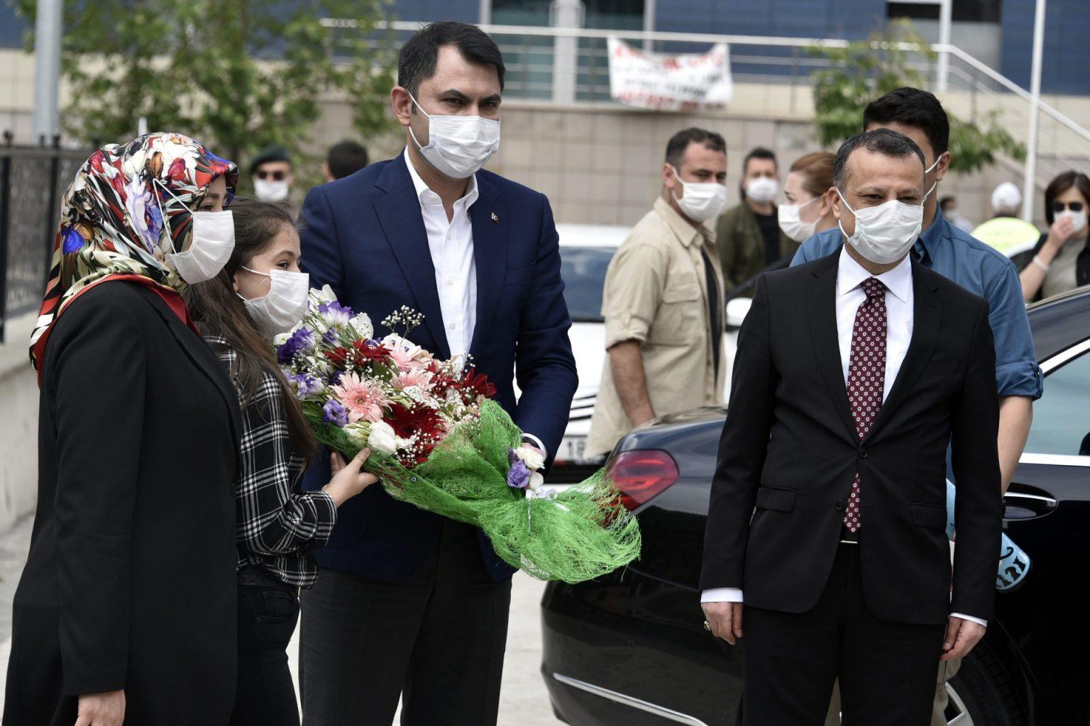 evre ve Şehircilik Bakanı Murat Kurum Gümüşhaneye çok sayıda projeleri hayata geçirecek müjdeler verdi 4