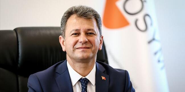 Ölçme, Seçme ve Yerleştirme Merkezi (ÖSYM) Başkanı Prof. Dr. Halis Aygün