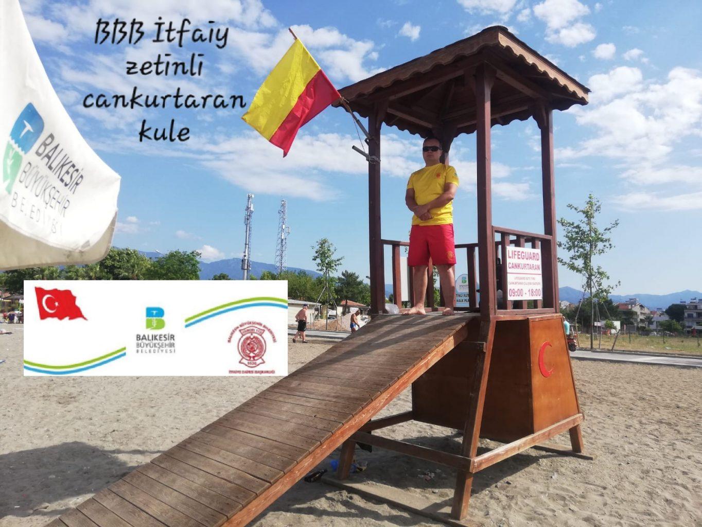 Edremit Körfezi, mavi bayrakları ve temiz sahili ile tatilcileri bekliyor