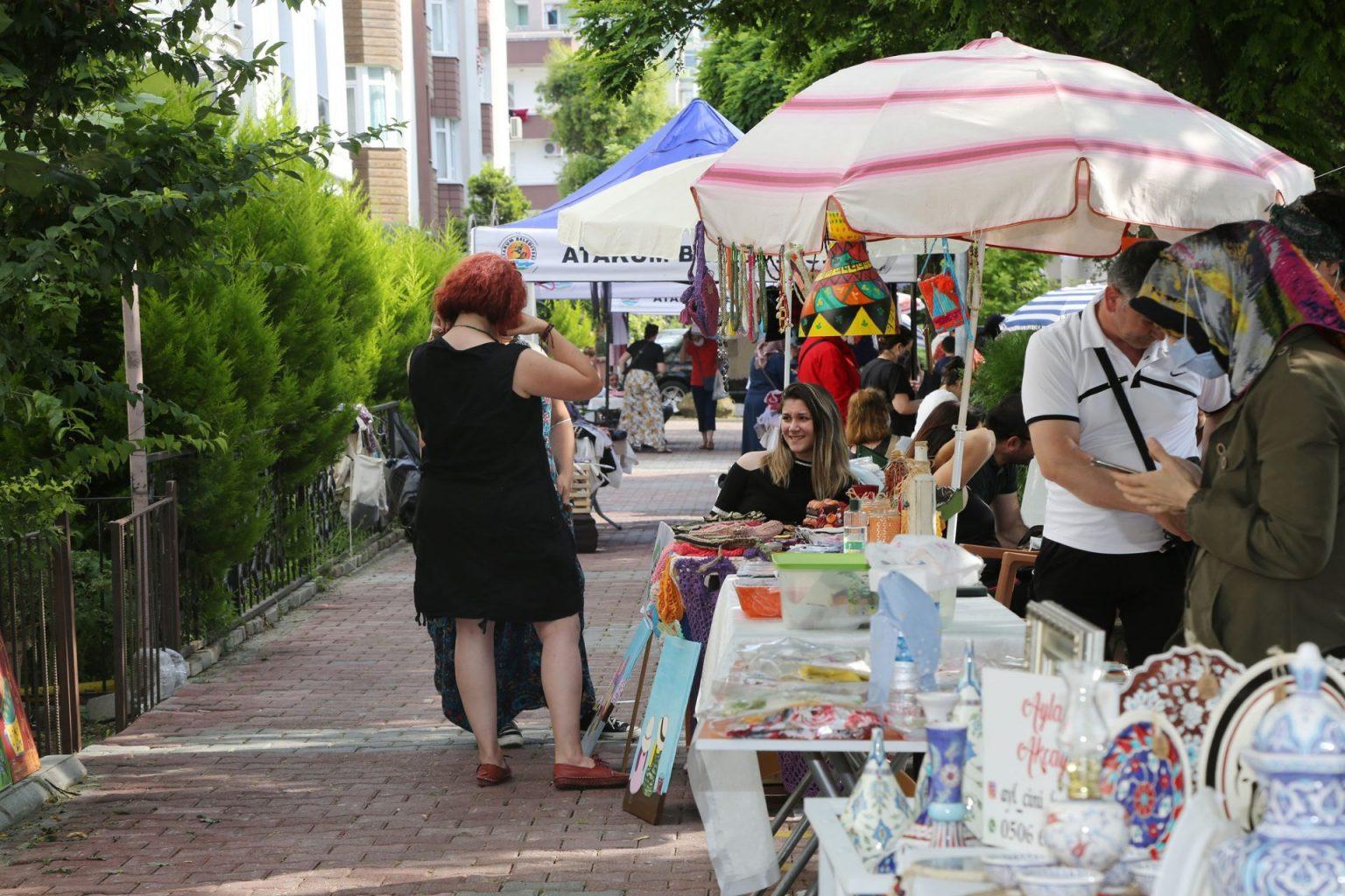 Kadınların emeği değerini buluyor. ozelkalem.com.tr