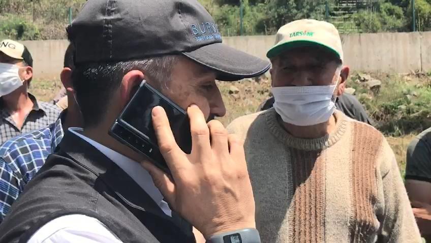 Erdoğan'dan selden kaçamayan Kader'in babasına taziye telefonu