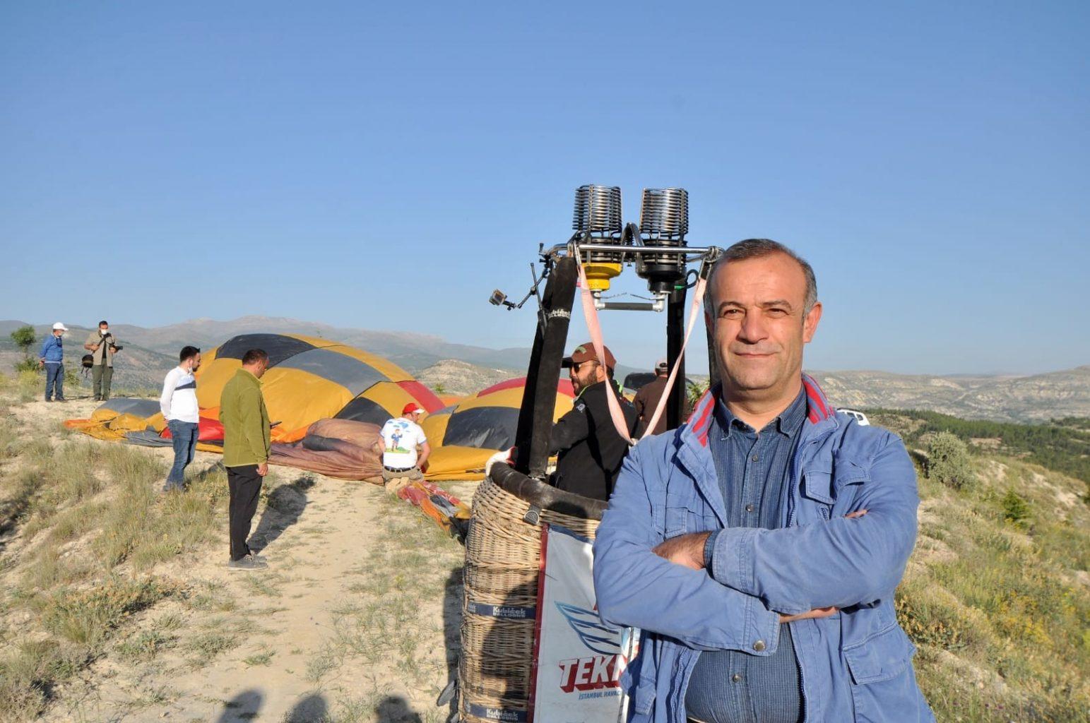 Konya'da balon turizmi başlıyor. ozelkalem.com.tr