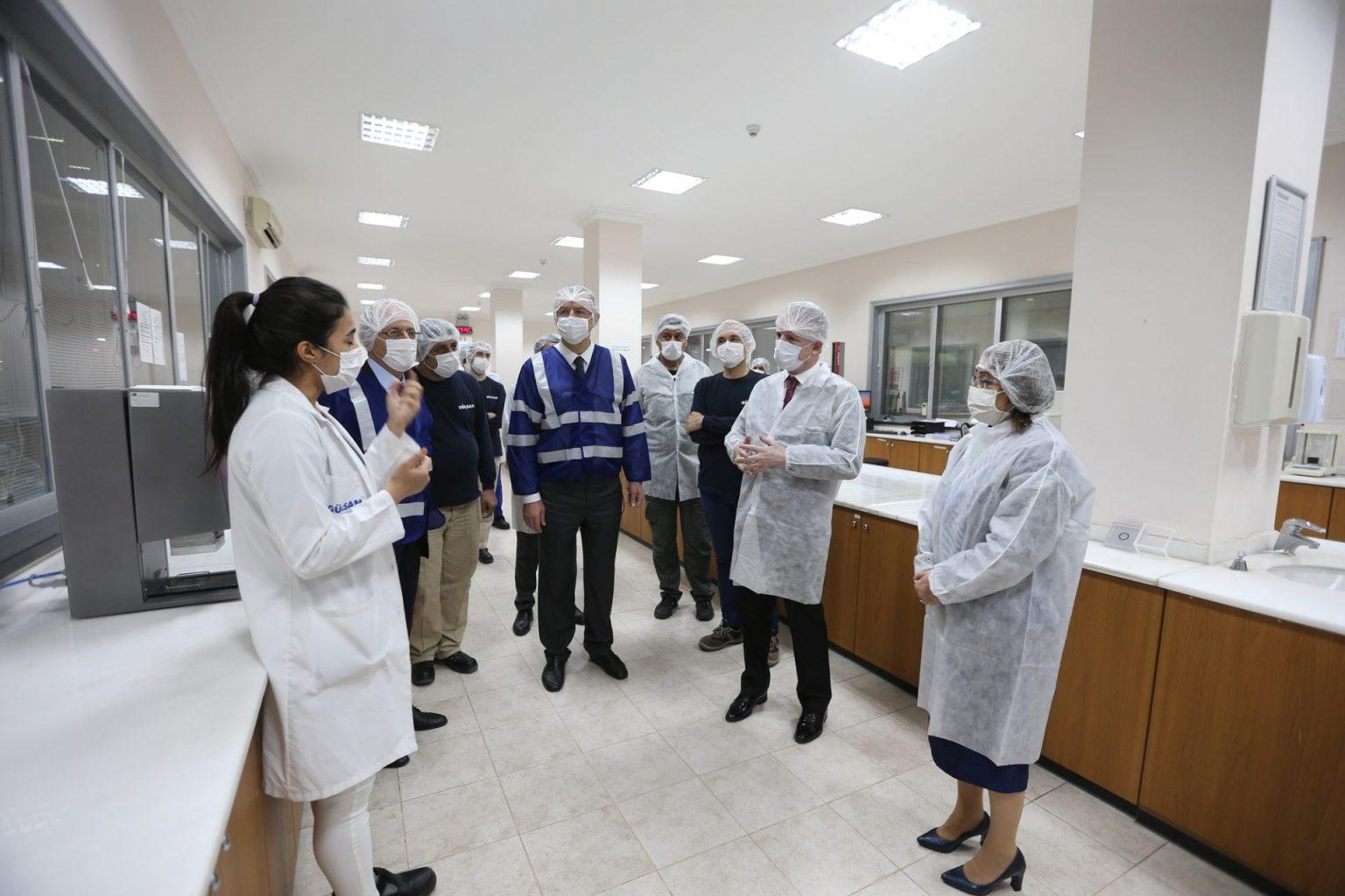 Büyükşehir'den sanayi çalışanlarına yönelik pandemi önlemleri! ozelkalem.com.tr