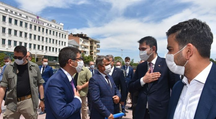 Bakan Kurum Şehzadeler Belediyesinin kentsel dönüşüm projesine onay verdi