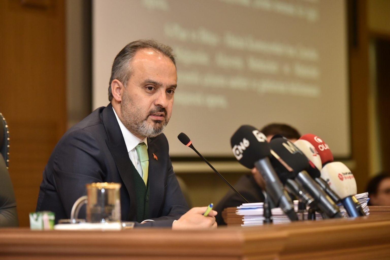 Bursa Büyükşehir Belediye Başkanı Alinur Aktaş 1