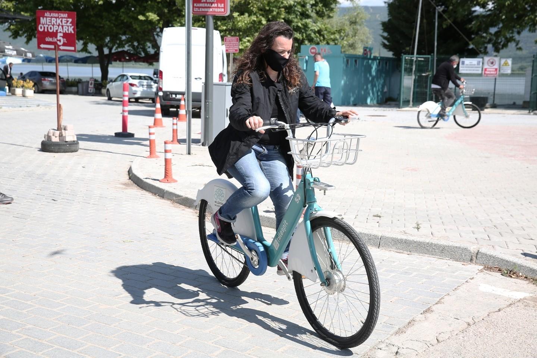 Gölyazı'da bisikletli ulaşım dönemi 3