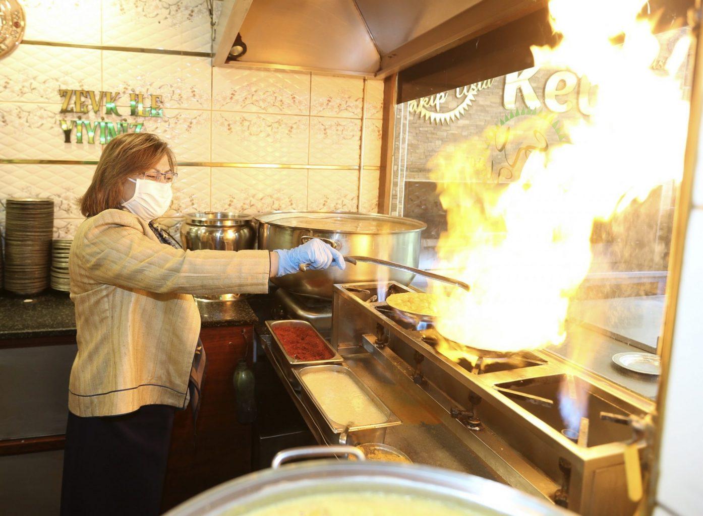 Gazi şehrin restoranları pandemiye karşı 'fıstık gibi' hazırlanıyor 2
