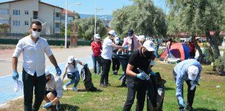 Gemlik Kent Konseyi'nden sahil temizliği 2