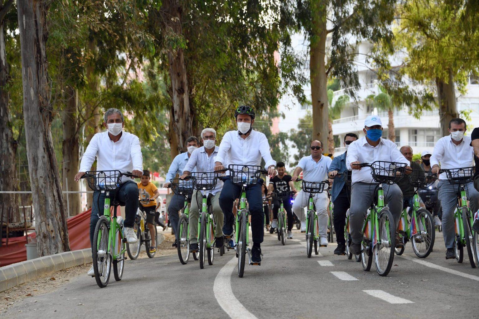Bisiklet kullanımı KentBis'le yaygınlaştı.