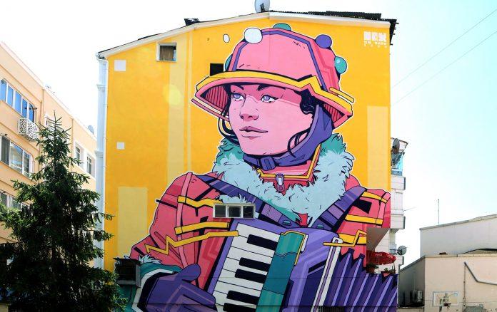 Ordu'da kendi özgün tarzlarını oluşturan genç sanatçıların binaların duvarlarında uyguladığı çalışmalar büyük ilgi gördü