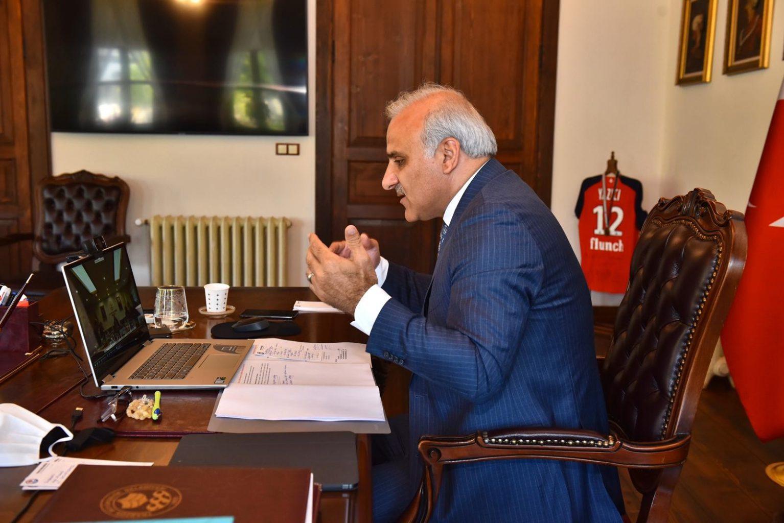 Trabzon Büyükşehir Belediye Başkanı Murat Zorluoğlu