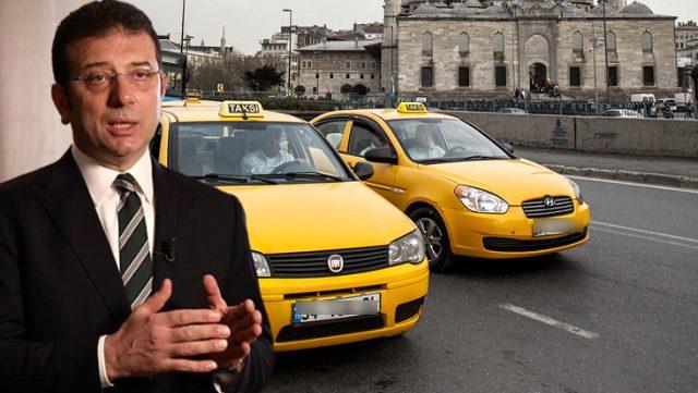 UKOME'nin taksi kararına tepki