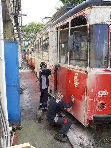 Moda Tramvayı yenilendi