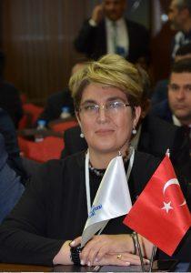 Türkiye Kent Konseyleri Birliği (TKKB) Yönetim Kurulu Üyesi Zeynep Özbaş Arıkan