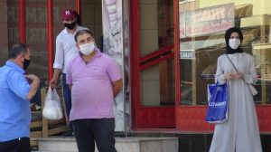 Sadece bir kentte 14 bin kişiye maske cezası kesildi