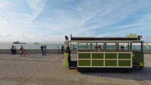 Kordon'a nostaljik tramvay geliyor - ozelkalem.com.tr