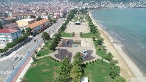 Ordu yeni sahil parkına kavuşuyor