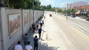 İstinat duvarında sanat - ozelkalem.com.tr