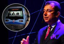 Ekrem İmamoglu'dan Metro Hattı Müjdesi