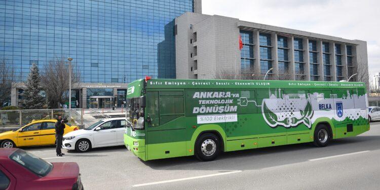 Otobüsü üreten Ankara Büyükşehir Belediyesi iştiraki BELKA, ilk etapta 23 EGO otobüsünü elektrikli otobüse dönüştürmeye hazırlanıyor.