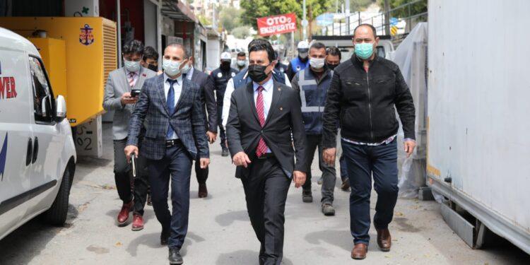 Bodrum Belediye Başkanı Ahmet Aras, sanayi esnafını dinledi