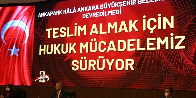 Büyükşehir Başkanı Yavaş: Hedeflerimizin hepsini tutturduk