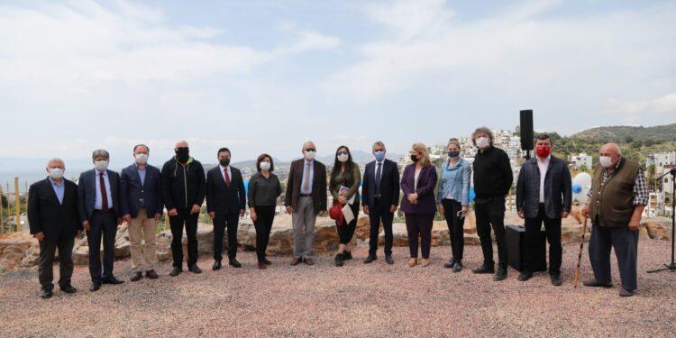 Bodrum'da Halikarnas Balıkçısı Seyir Terası ziyarete açıldı