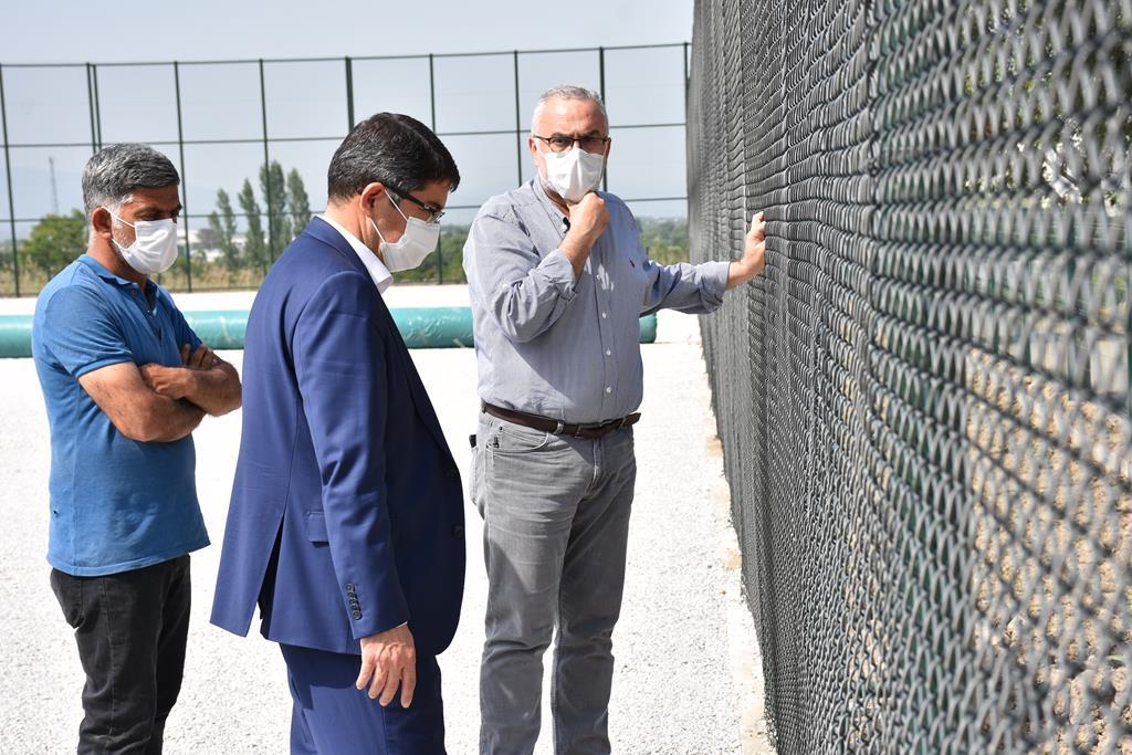 Belediye Başkanı Ömer Faruk Çelik, tesisteki tüm çalışmaların bir ay içinde tamamlanmış ve açılışa hazır hale gelmiş olacağını söyledi.