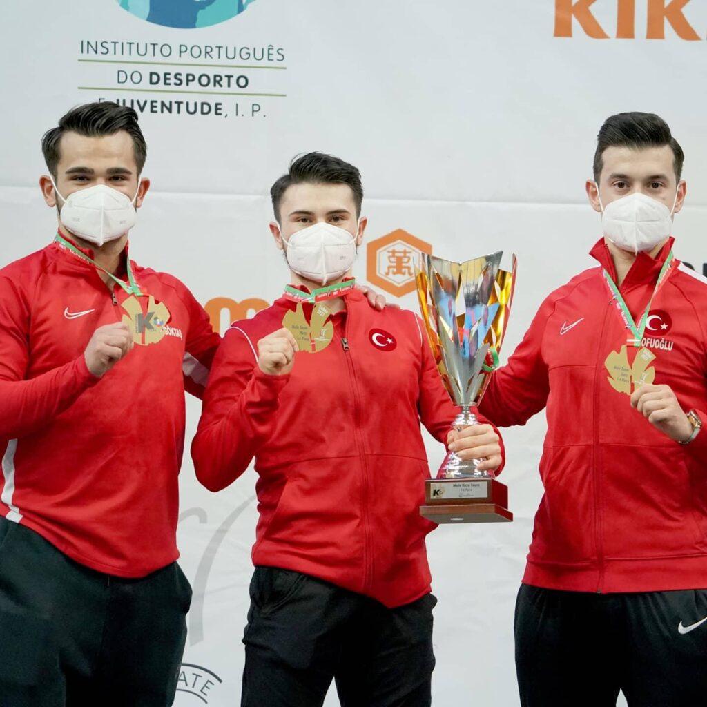 Kağıthane Belediyespor'lu sporcular Lizbon etabından 2 altın ve 4 bronz madalya ile döndü, Karate Milli Takımı da etabı zirvede tamamladı.